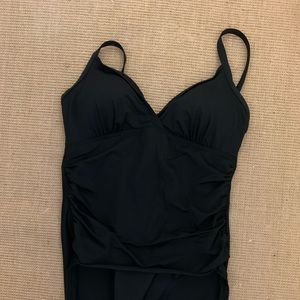 Ladies size 12 miracle suit bathing suit
